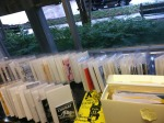 zine collection @ Nadine Vorhoff Library